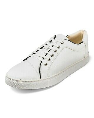 Flintoff By Jacamo leather look trainers uk mens size 11 brand new