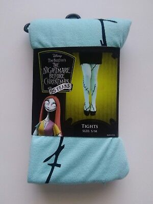 Disney Nightmare Before Christmas Sally Costume Tights Cosplay Jack Stitches
