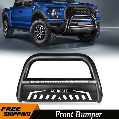 Black Bull Bar Push Bumper Grille Guard For 2004-20 Ford F150//03-17 Expedition