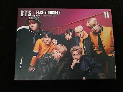 BTS Face Yourself CD DVD Japanese Album