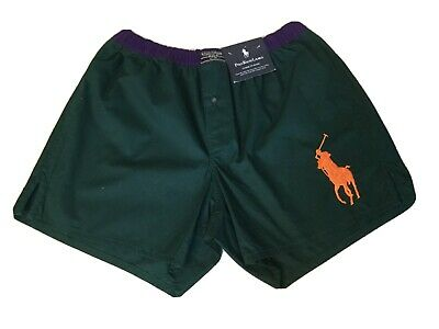 Ralph Lauren Polo Vintage Mens Classic Fit Boxers Big Pony Medium Great Colors