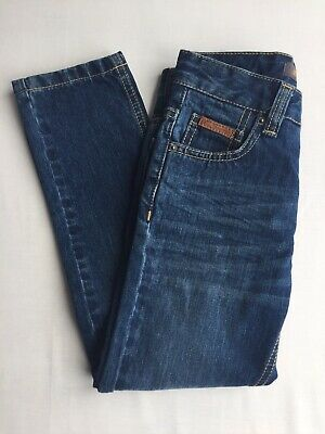 Boys Ben Sherman Designer Blue Denim Jeans, 5-6 Years, Brand New Without Tags