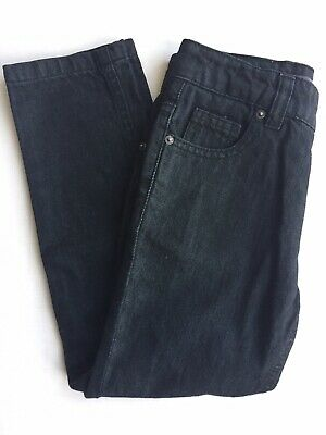 Boys Ben Sherman Designer Black Denim Jeans, Brand New Without Tags