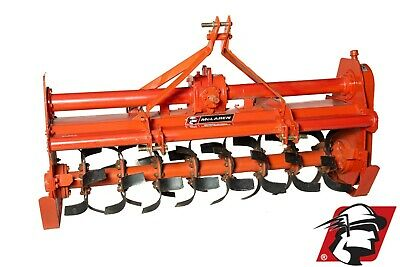 "Rotary Tiller 71"" Wide Category 1 3-Point Heavy Duty PTO Drive for Tractors"