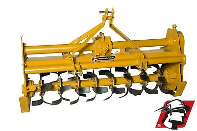 "Rotary Tiller 75"" Wide Category 1 3-Point Heavy Duty PTO Drive for Tractors"