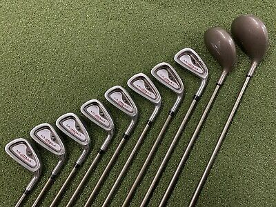 La Jolla Club Set Driver - 5 Fairway Wood 3-PW Iron Set Graphite Super Kick Flex