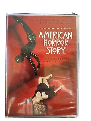 American Horror Story - Blu-ray. The Complete First Season. 3 Discs 12 Episodes.
