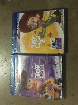 toy story 1 and 2 bundle (dvd + blu-ray + digital) combo pack