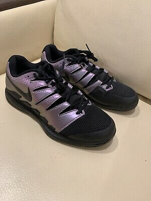 New Nike Air Zoom Vapor X Hc Hard Court Tennis Shoes Black Purple Mens Size 11 79 99 Picclick