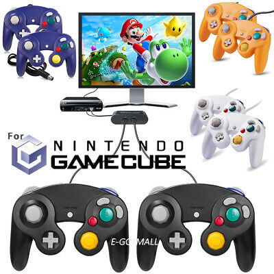 2Pack Wired NGC Controller Gamepad for GameCube & Wii U Smash Bros Switch
