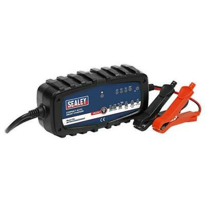 Sealey AUTOCHARGE200HF Compact Auto Smart Charger 2A 9-Cycle 6/12V - Lithium