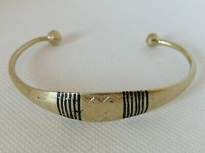 Rare Extremely Ancient Viking Bracelet Bronze Artifact Authentic Very Stunning