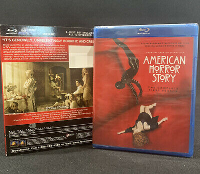 American Horror Story Blu-Ray 3 Disc 12 Episode The Complete First Season  NEW