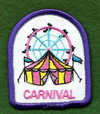 Boy Cub Girl Scouts Badge Fun Patch Badge~I love to go camping treehouse Bear