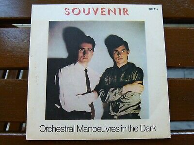 Orchestral Manoeuvres In The Dark Omd Souvenir Motion & Heart Greek Single 7'