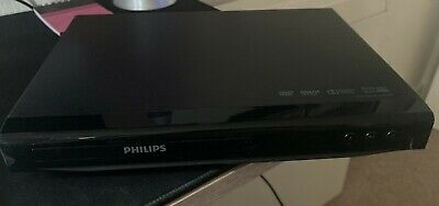 Philips DVP2800 DVD Player with DivX, Black, Tested Working, TV cables&Remote L