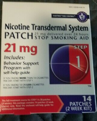Step 1 Nicotine Patches to Quit Smoking - Stop Smoking Aid 14 Count