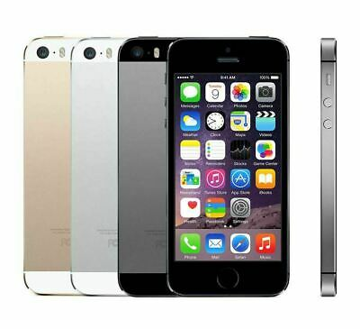 APPLE iPHONE 5S 16GB Unlocked Smartphone Mobile Phone Grey Silver Gold SIM FREE