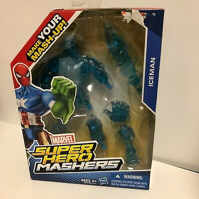 2014 Marvel Universe Super Hero Mashers Action Figure ICE MAN Hasbro NIB