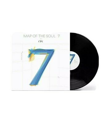 """BTS Map Of The Soul : 7 ON - 7"""" Vinyl LP Feat.Sia (Official Limited Edition)"""