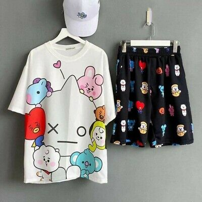 BT21 Characters T-Shirt And Pants