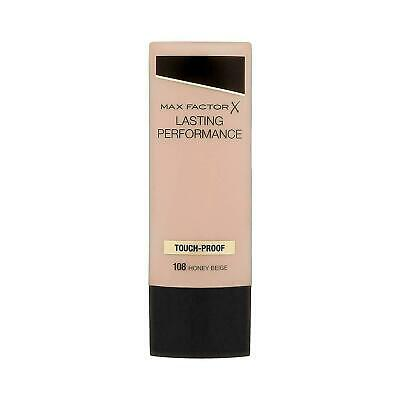 Max Factor Lasting Performance Touch Proof Foundation 108 Honey Beige