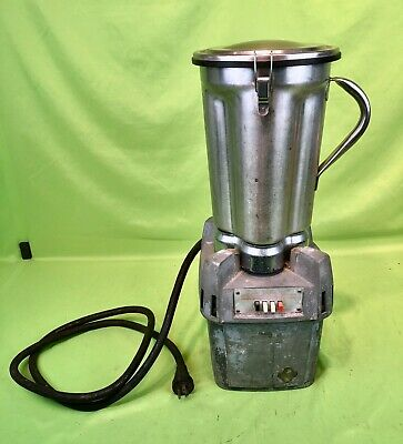 WARING CB-5 COMMERCIAL HEAVY DUTY Tabletop Blender w/ Stainless Steel Pitcher
