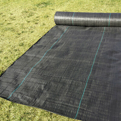 1 2 3 4 M Wide Weed Control Fabric 100Gsm Ground Cover Garden Landscape