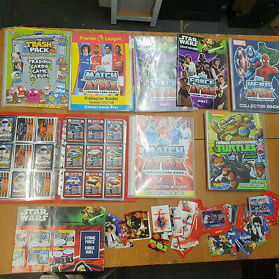 Trading Card Collection Joblot Star Wars Top Gear A1