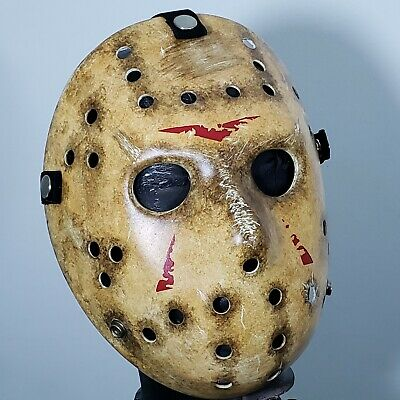 Mask Friday the 13th Jason Voorhees Remake Original Collection Hight Details NEW