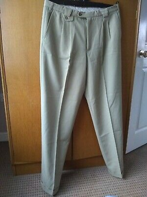 Vintage 1950s Style Men's Trousers size 38 inch waist
