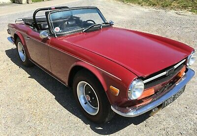 1973 Triumph TR6 'Original Unrestored'  LHD UK Registered