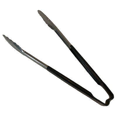 """Vollrath 4781220 Kool-Touch Black Handled 12"""" Utility Tong (#01)"""