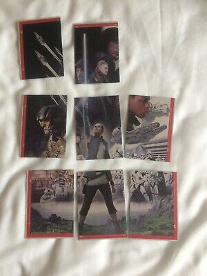 Star Wars The Rise Of Skywalker Topps Trading Cards X 8 Very Good  Free Postage
