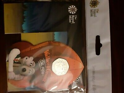 Wallace and gromit 50p coin