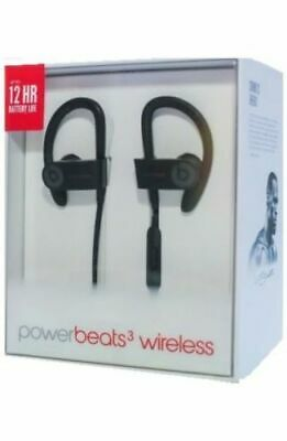 New Authentic Beats by Dr. Dre Powerbeats3 Wireless Bluetooth Headphones