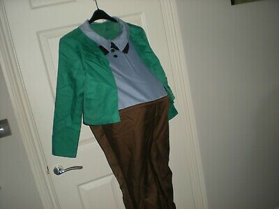 Charlie & Chocolate Factory - Augustus Gloop Fancy Dress Outfit Aged 10-12