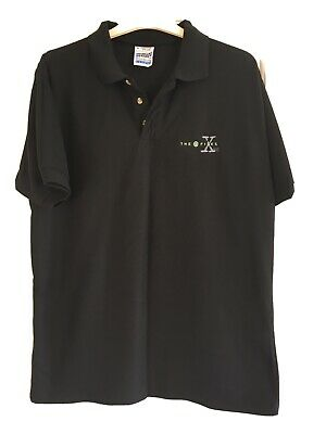 Vintage X-files Screen Stars Rare Design Polo Shirt - Medium