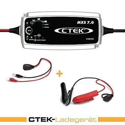 CTEK Mxs 7.0 Batteria Caricabatteria 12V 7A Supply Mode Batteria Power Auto Moto