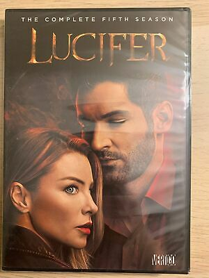 Lucifer: The Complete Fifth Season 5 (DVD, 2018, 3-Disc Set) Brand New & Sealed