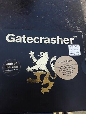Various : Gatecrasher Black CD Value Guaranteed from eBay's biggest seller!