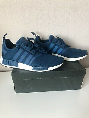 Adidas NMD R1 Nomad Runner Blue Night White Brand New Men Size 5-13 BY3016