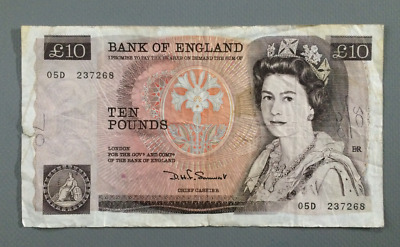 OLD TEN Pound (£10) Bank OF England notes -