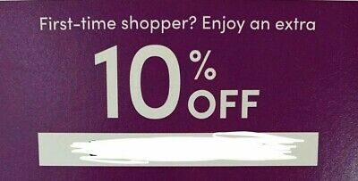 Wayfair Coupon Promo Code Extra 10 Off First Time Order Expires 11 17 2020 3 75 Picclick