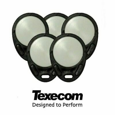 Pack of 5 Texecom Proximity Keyfobs for Panels with Prox Reader CDB-0001