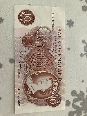 Old 10 shilling note Great Condition