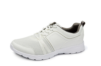 VIONIC DEVRA RRP £105 ORTHOTIC WHITE MESH TRAINERS ACTIVE SHOES WIDE WOMENS