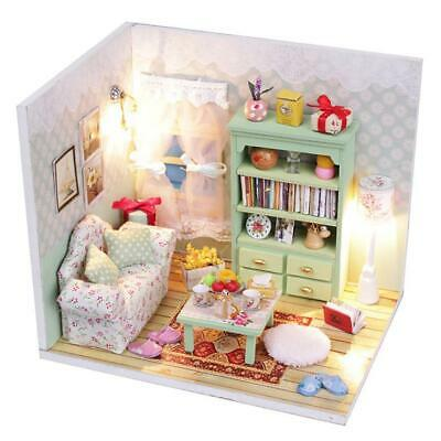 Details about  /DIY Craft Model Miniature Children\/'s Toy Doll House Birthday Gift In Seed Shape