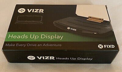 VIZR by FIXD - Heads Up Display, BRAND NEW (unopened)