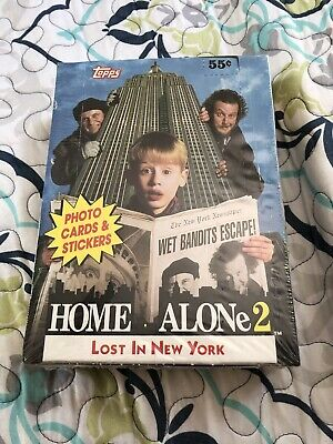 Home Alone 2 Trading Cards Stickers 36 Ct Sealed Unopened Alone2